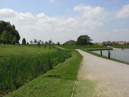 Chessy (Montévrain) : parc du Bicheret (et des Frênes)