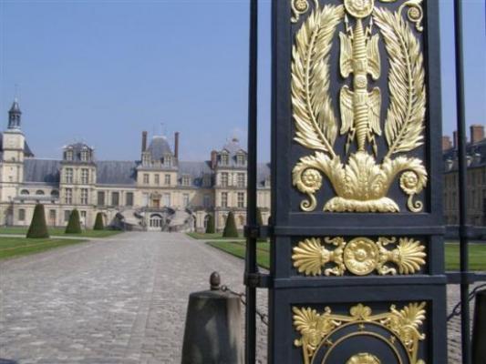 Fontainebleau cour des Adieux
