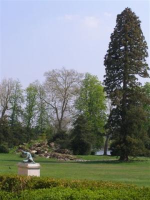 Fontainebleau jardin anglais