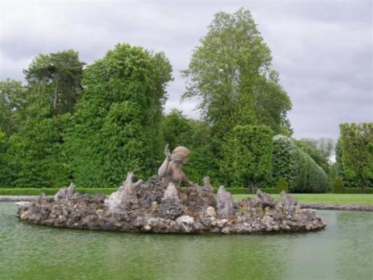 Champs-sur-Marne bassin de la nymphe