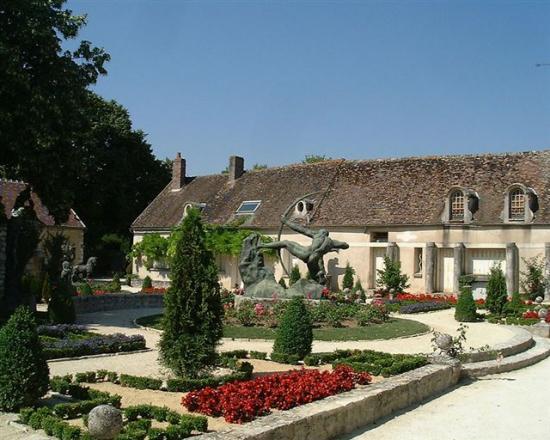 Egreville jardin-musée Bourdelle