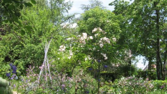 Le jardin de Gros-Bois à Moret-sur-Loing