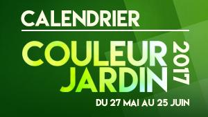 Calendrier Couleur Jardin 2017