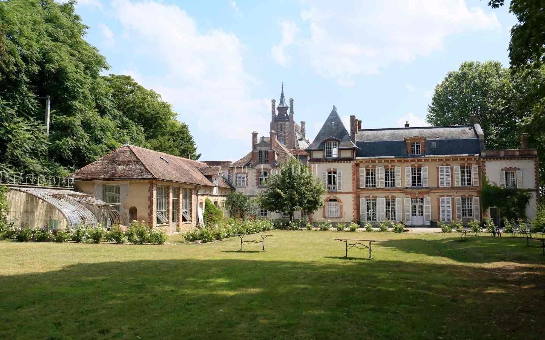 Chateau rosa bonheur parc orangerie