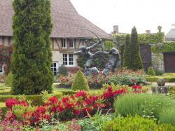 Egreville jardin bourdeille
