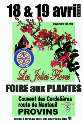 Les jolies flores provins 2020