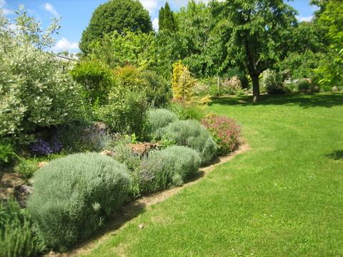 Tancrou : jardin de rocailles